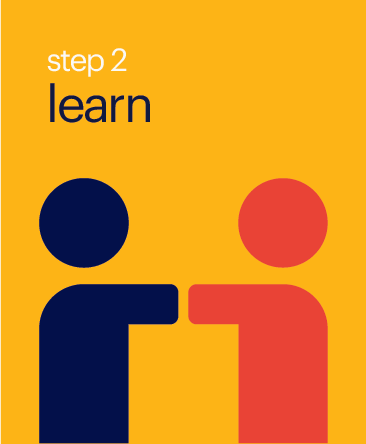 Step 2 Learn Button