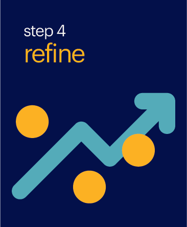 Step 4 Refine Button