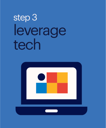Step 3 Leverage Tech Button