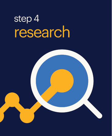 Step 4 Research Button