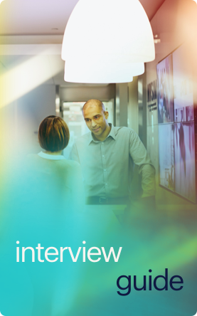 interview guide button