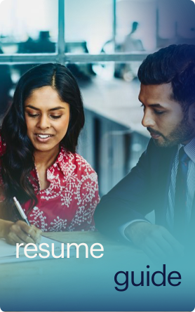 resume guide button