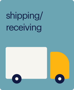 shipping and recieving
