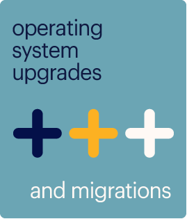 operating system upgrades and migrations