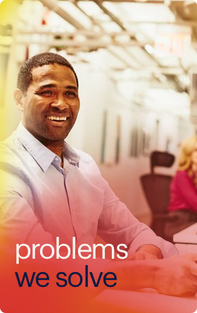 problems we solve button