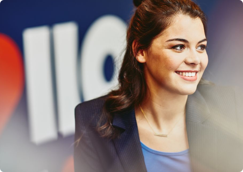 why randstad number one button